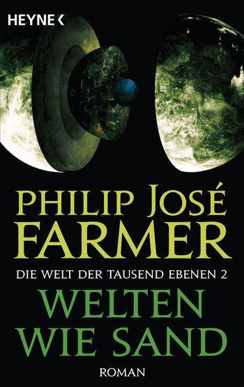 Buch-Cover, Philip José Farmer: Welten wie Sand