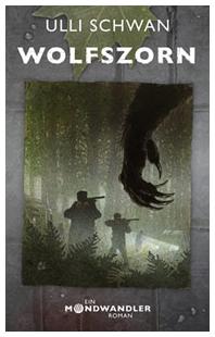 Buch-Cover, Ulli Schwan: Wolfszorn