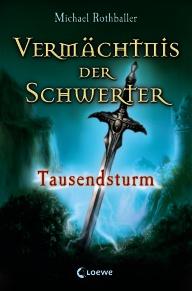 Buch-Cover, Michael Rothballer: Tausendsturm