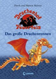 Buch-Cover, Derek Meister: Das große Drachenrennen