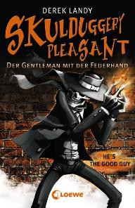 Buch-Cover, Derek Landy: Skulduggery Pleasant