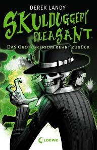 Buch-Cover, Derek Landy: Das Groteskerium kehrt zurück