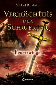 Buch-Cover, Michael Rothballer: Feuerzwinger