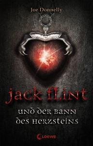 Buch-Cover, Joe Donnelly: Jack Flint und der Bann des Herzsteins