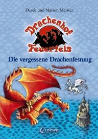 Buch-Cover, Derek Meister: Die vergessene Drachenfestung