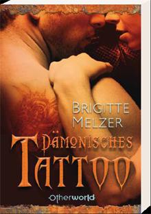 Buch-Cover, Brigitte Melzer: Dämonisches Tattoo
