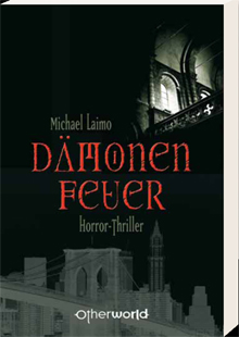 Buch-Cover, Michael Laimo: Dämonenfeuer