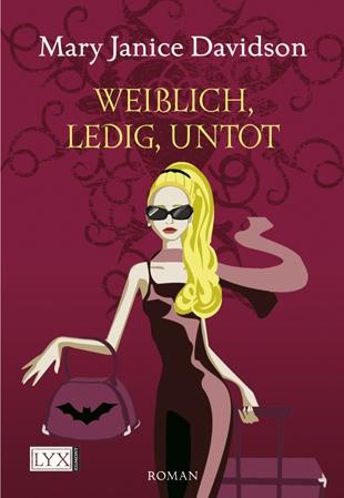 Buch-Cover, Mary Janice Davidson: Weiblich, ledig, untot