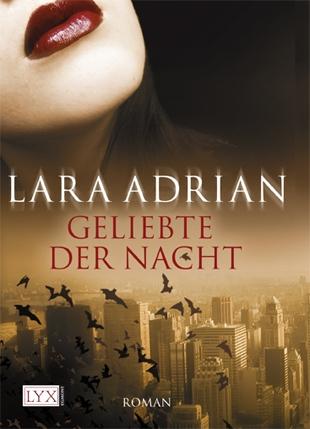 Buch-Cover, Lara Adrian: Geliebte der Nacht