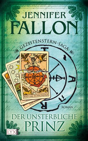 Buch-Cover, Jennifer Fallon: Der unsterbliche Prinz