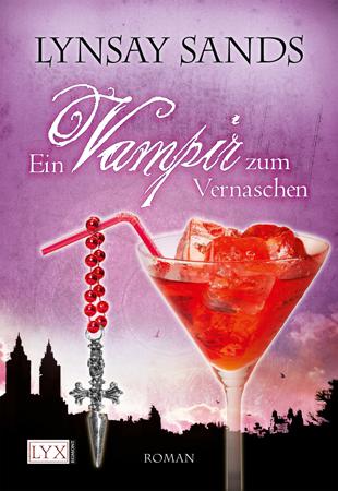 Buch-Cover, Lynsay Sands: Ein Vampir zum Vernaschen