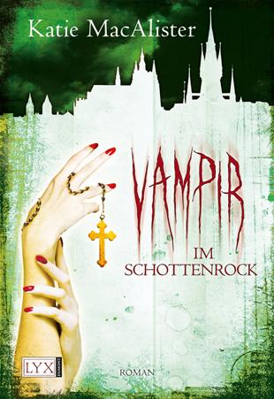 Buch-Cover, Katie MacAlister: Vampir im Schottenrock
