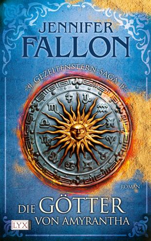 Buch-Cover, Jennifer Fallon: Die Götter von Amyrantha