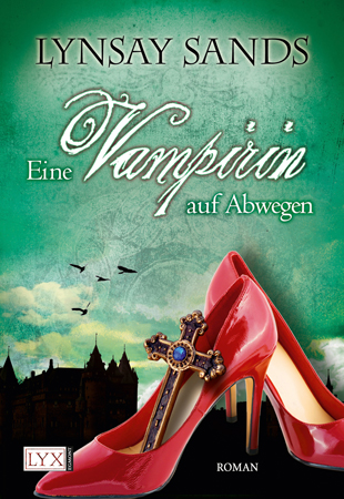 Buch-Cover, Lynsay Sands: Eine Vampirin auf Abwegen
