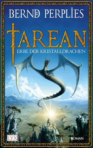 Buch-Cover, Bernd Perplies: Erbe der Kristalldrachen
