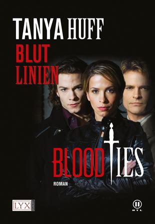 Buch-Cover, Tanya Huff: Blutlinien