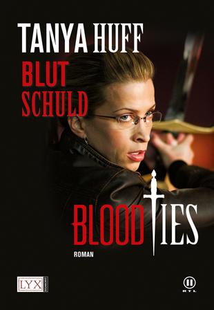 Buch-Cover, Tanya Huff: Blutschuld