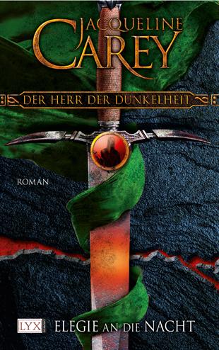 Buch-Cover, Jacqueline Carey: Der Herr der Dunkelheit (Elegie an die Nacht)