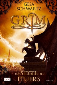 Buch-Cover, Gesa Schwartz: Grim - Das Siegel des Feuers