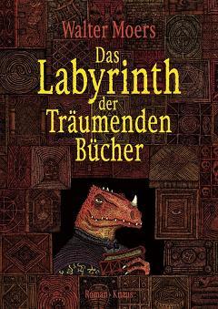 Buch-Cover, Walter Moers: Das Labyrinth der Träumenden Bücher
