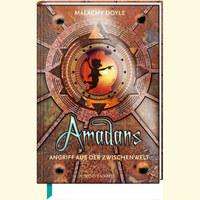 Buch-Cover, Malachy Doyle: Amadans – Angriff aus der Zwischenwelt