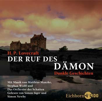 Buch-Cover, Howard Phillips Lovecraft: Der Ruf des Dämon. Dunkle Geschichten