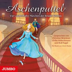Buch-Cover, Wilhelm Grimm: Aschenputtel - Vier zauberhafte Märchen der Brüder Grimm