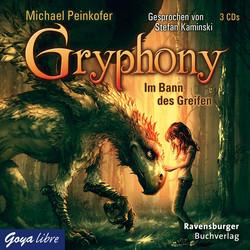 Buch-Cover, Michael Peinkofer: Gryphony - Im Bann des Greifen (Hörbuch)