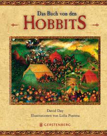 Buch-Cover, David Day: Das Buch von den Hobbits
