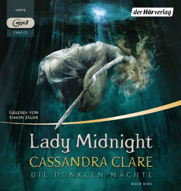 Buch-Cover, Cassandra Clare: Lady Midnight (Hörbuch)