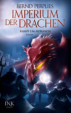 Buch-Cover, Bernd Perplies: Kampf um Aidranon