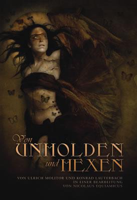 Buch-Cover, Nicolaus Equiamicus: Von Unholden und Hexen