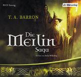 Buch-Cover, Tom A. Barron: Die Merlin Saga