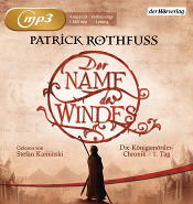 Buch-Cover, Patrick Rothfuss: Der Name des Windes [Hörbuch]