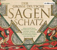 Buch-Cover, Ludwig Bechstein: Der große deutsche Sagenschatz [Hörbuch]