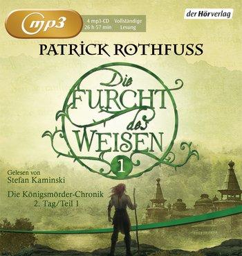 Buch-Cover, Patrick Rothfuss: Die Furcht des Weisen Teil 1