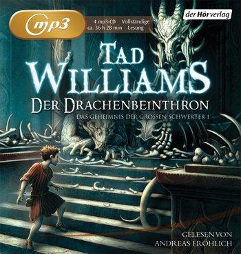 Buch-Cover, Tad Williams: Der Drachenbeinthron [Hörbuch]