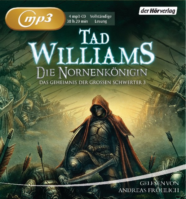 Buch-Cover, Tad Williams: Die Nornenkönigin [Hörbuch]