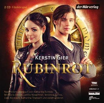 Buch-Cover, Kerstin Gier: Rubinrot [Filmhörspiel]