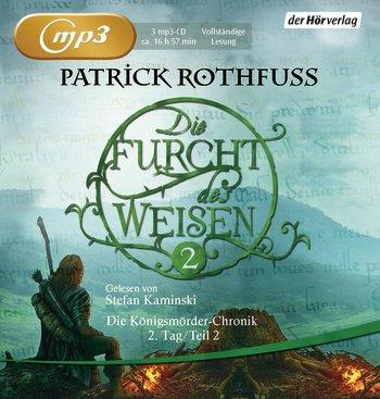 Buch-Cover, Patrick Rothfuss: Die Furcht des Weisen Teil 2