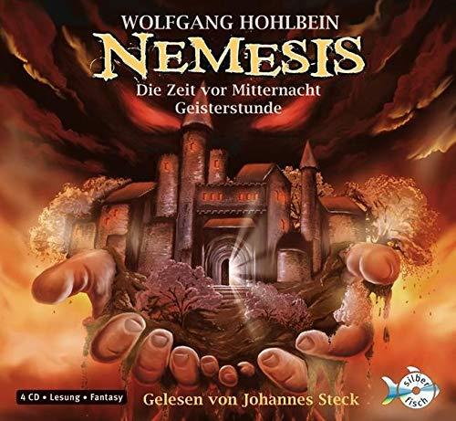 Buch-Cover, Wolfgang Hohlbein: Nemesis: Die Zeit vor Mitternacht, Geisterstunde [Audio]