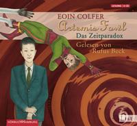 Buch-Cover, Eoin Colfer: Das Zeitparadox