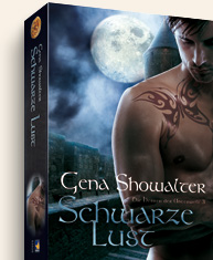 Buch-Cover, Gena Showalter: Schwarze Lust