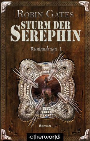 Buch-Cover, Robin Gates: Sturm der Serephin