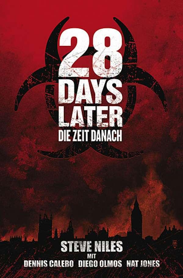 Buch-Cover, Steve Niles: 28 Days Later: Die Zeit danach