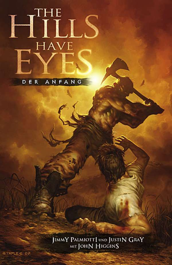 Buch-Cover, Jimmy Palmiotti: The Hills Have Eyes: Der Anfang