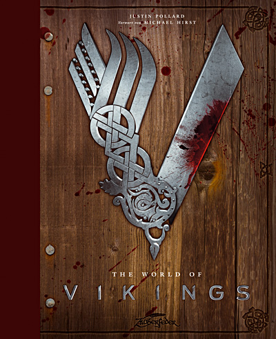 Buch-Cover, Justin Pollard: The World of Vikings