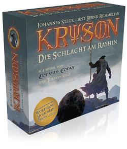 Buch-Cover, Bernd Rümmelein: Kryson - Die Schlacht am Rayhin