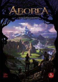 Buch-Cover, Sebastian Witzmann: ABOREA - Das Tischrollenspiel 2. Auflage