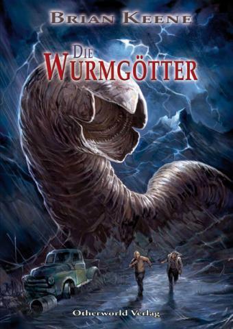 Buch-Cover, Brian Keene: Die Wurmgötter